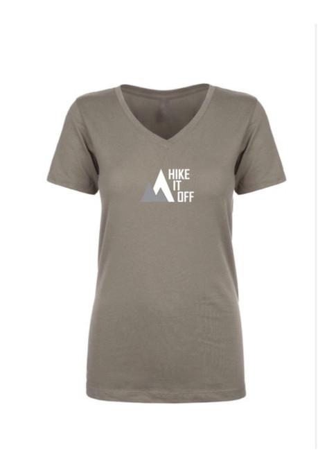 Women's Infinite Logo V-Neck Tee