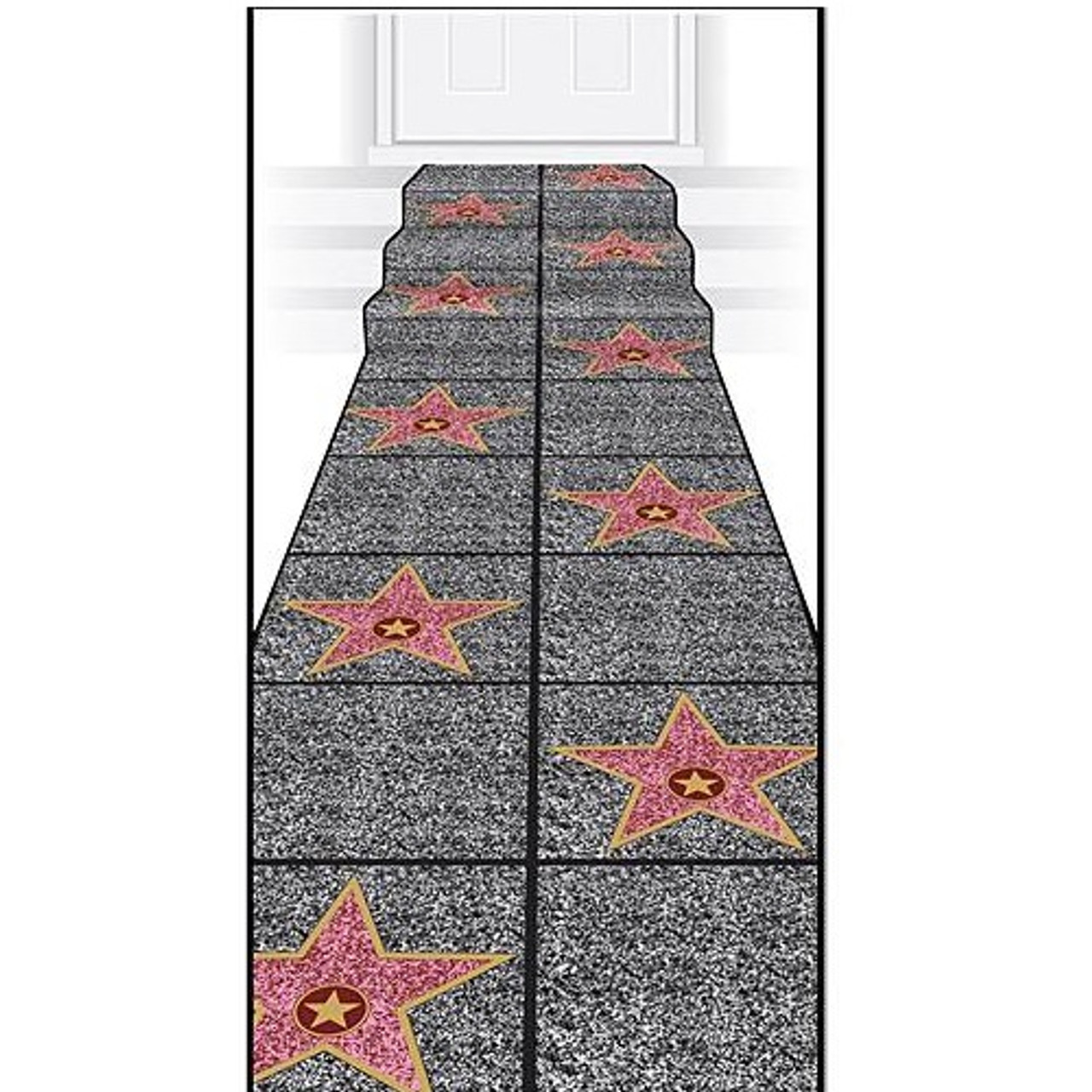 Hollywood Star Carpet Runner Party Time Inc