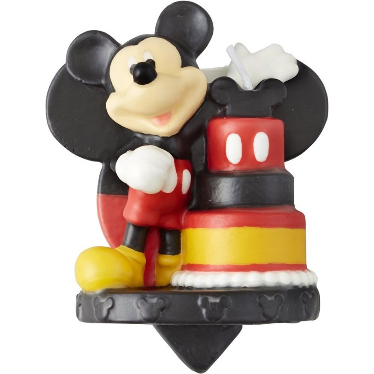 Remarkable Mickey Mouse Birthday Cake Candle Party Time Inc Funny Birthday Cards Online Fluifree Goldxyz