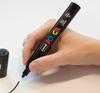 Uniball Posa PC-5M (PC5M) Paint Marker Pen In A Bundle Of 39 Colours
