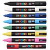 Uniball Posca PC-5M (PC5M8A) 8 Assorted Colour Bundle In Case - uni ball, uniball, uni posca | PoscART