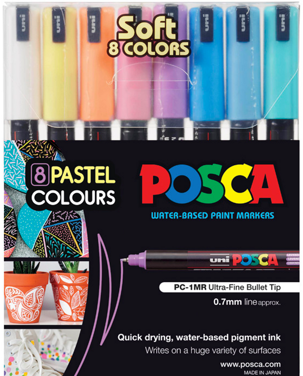 DRY WIPE PENS FLOURESCENT COLOURS EASY CLEAN WATER BASED CHILD SAFE PACK OF 3