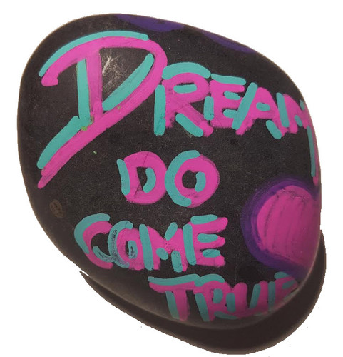 Rock Painting On The Fly