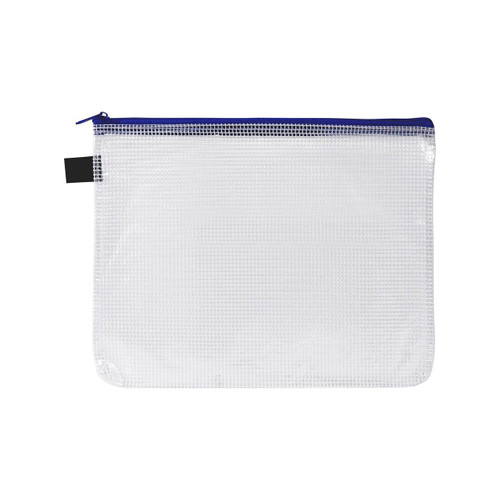 Avery 49502 A5 Blue Handy Pouch Zip Closure