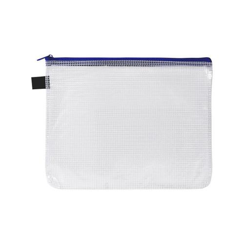 Avery 49502 A5 Blue Handy Pouch Zip Closure