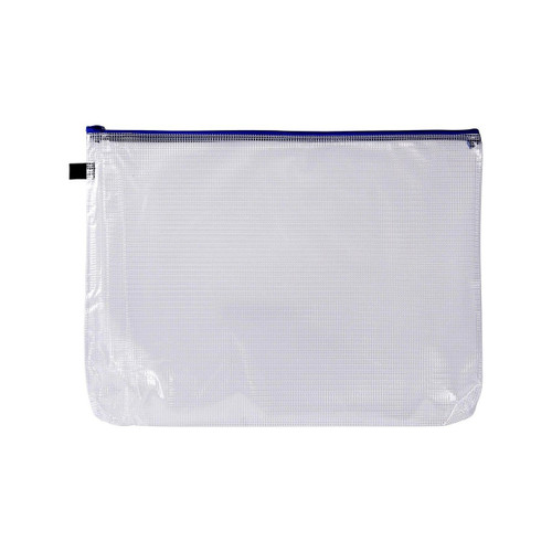 Avery 49500 A3 Blue Handy Pouch Zip Closure