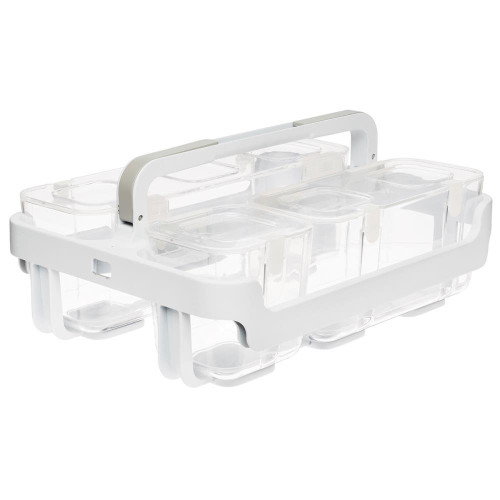 JPM 29003CR DEFLECTO STACKABLE CADDY ORGANIZER