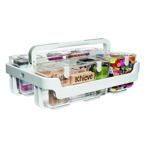 Deflecto 29003CR Stackable Caddy Organiser | Poscart
