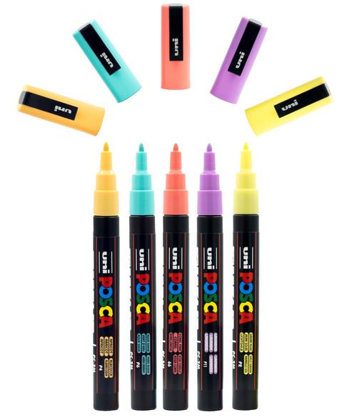 Posca Pc3M Pastel Set Of paint markers.