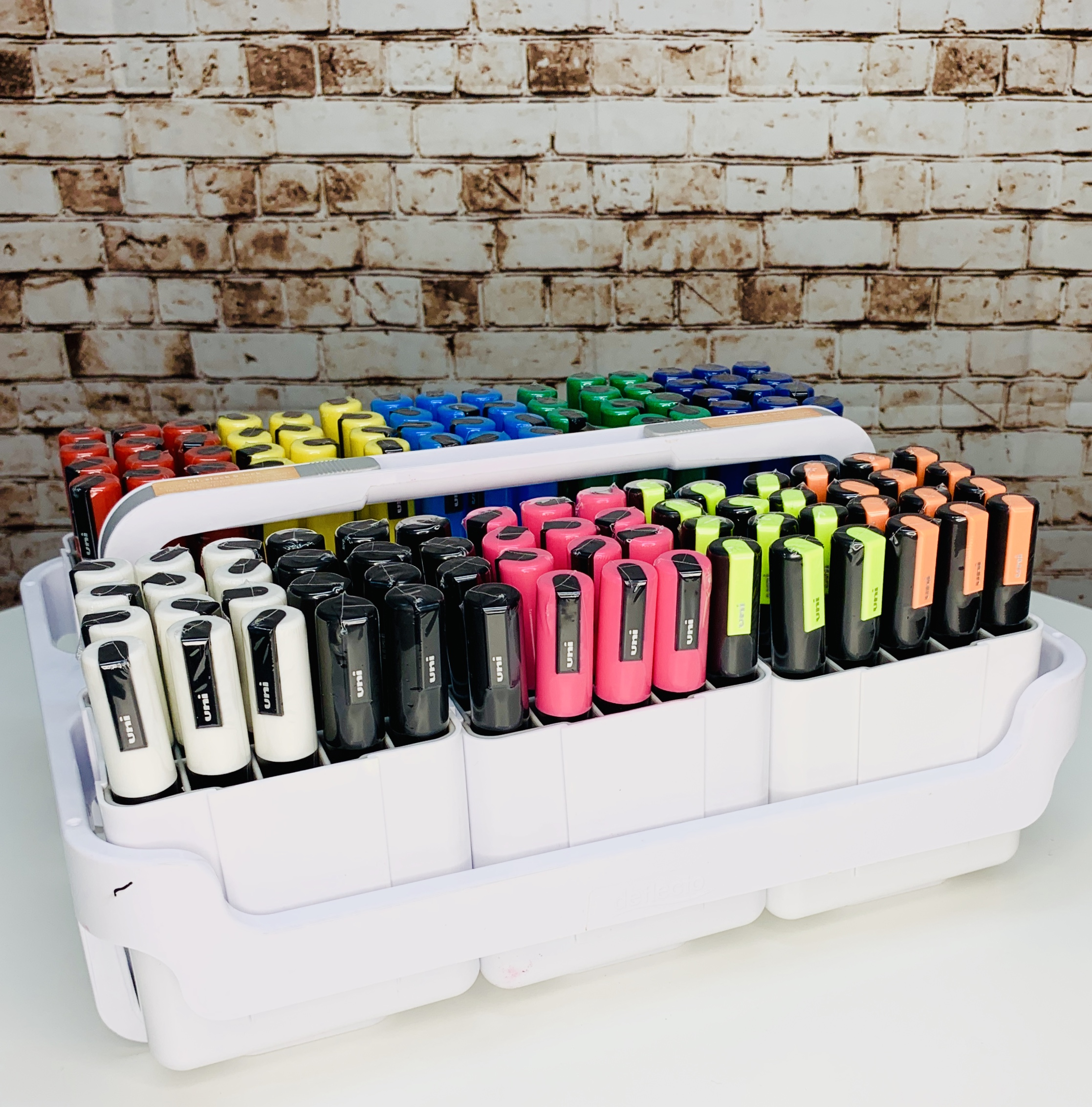 Storage Idea For Holding Your Posca Pc 5m And Or Pc 3m Paint Marker Pens Poscart