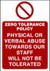 Zero Tolerance Policy 2