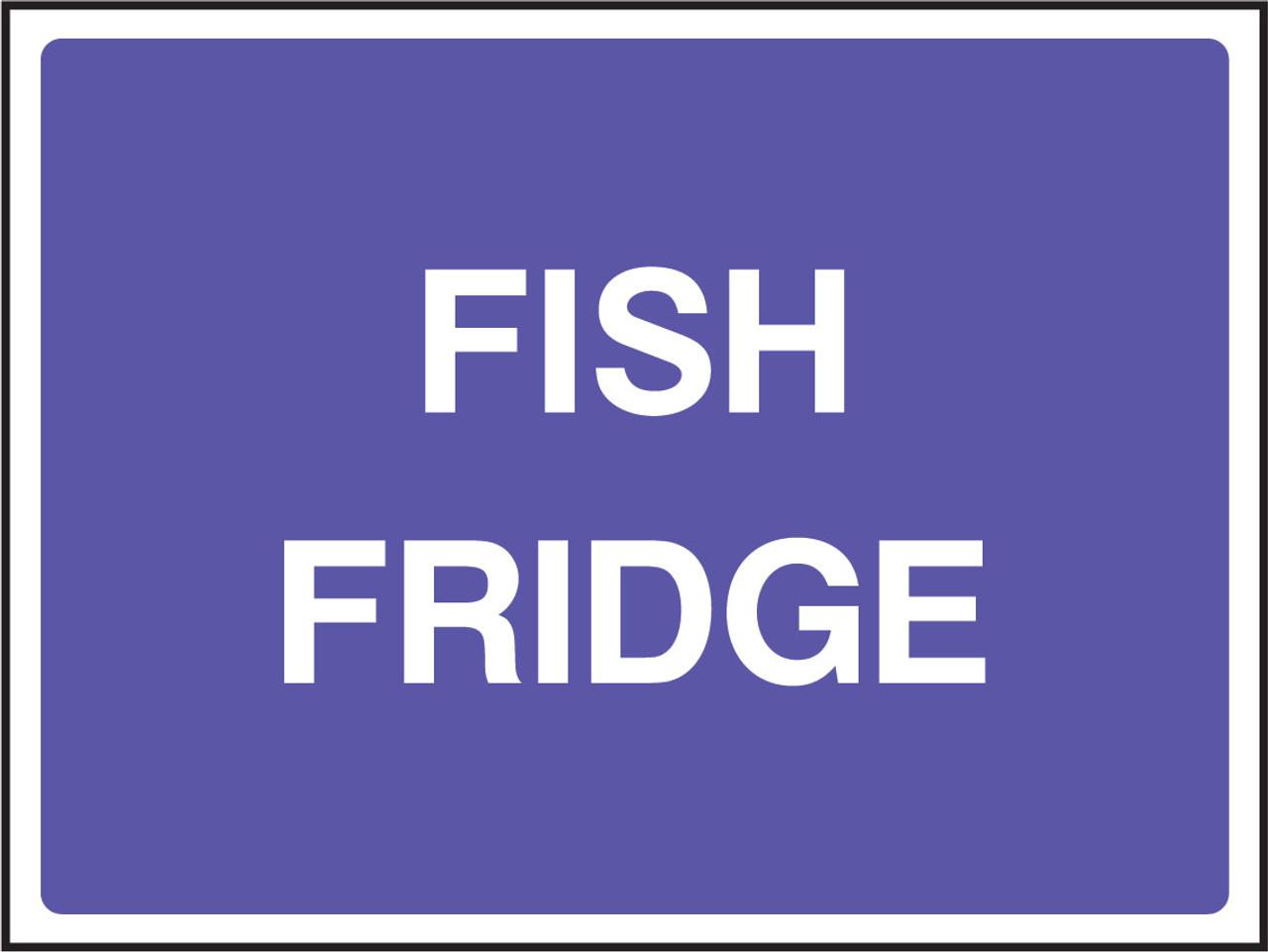 Fish Fridge catering sign