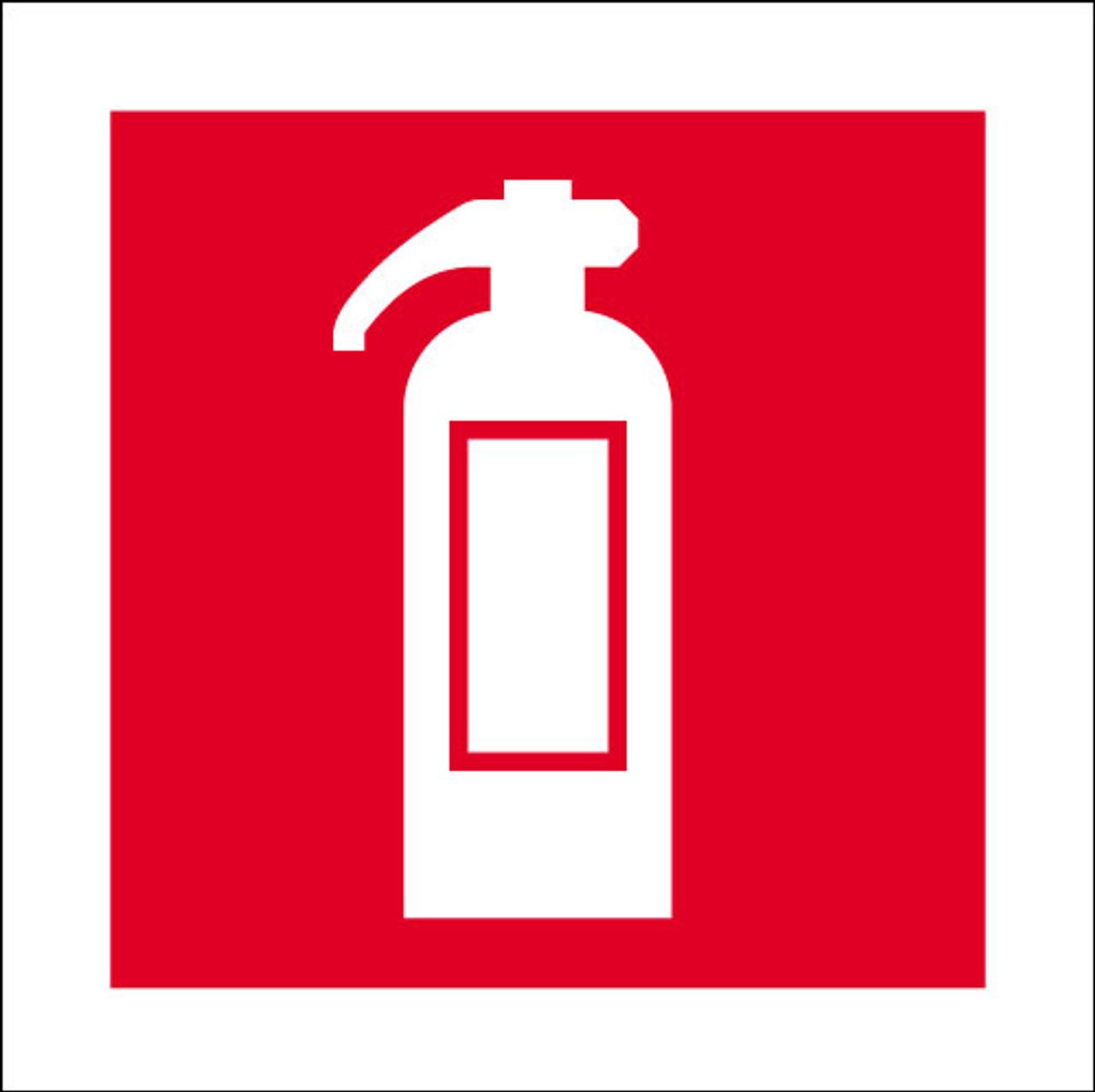 Fire extinguisher logo