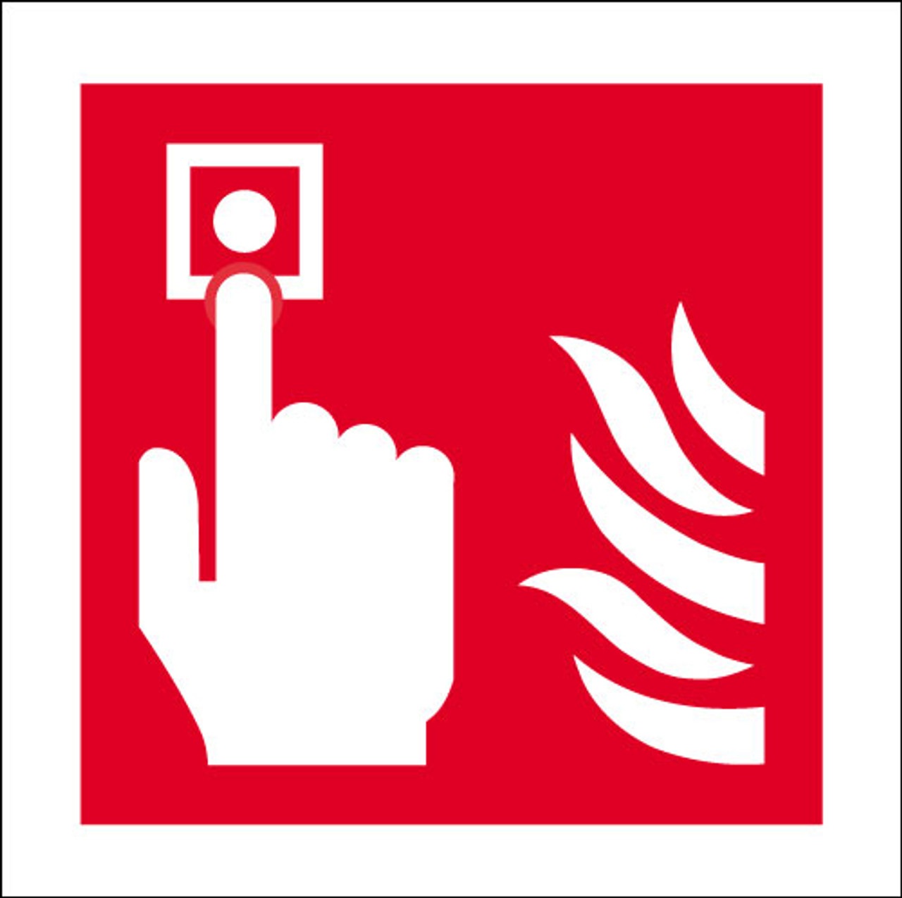 Fire alarm logo