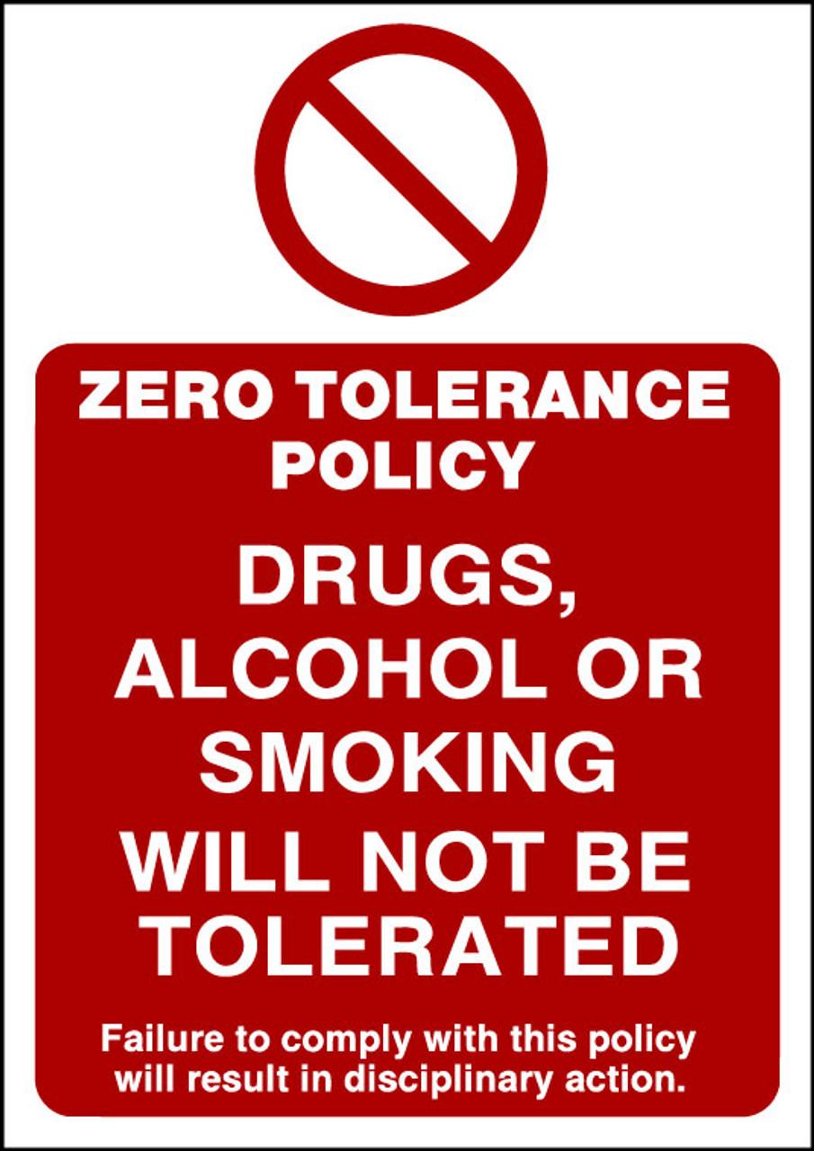 Zero Tolerance Policy 5