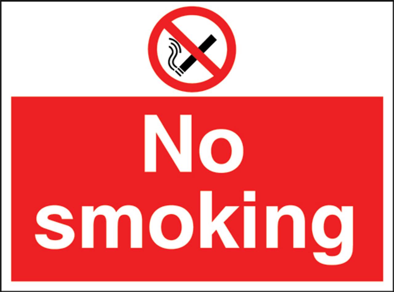 No smoking Correx Sign