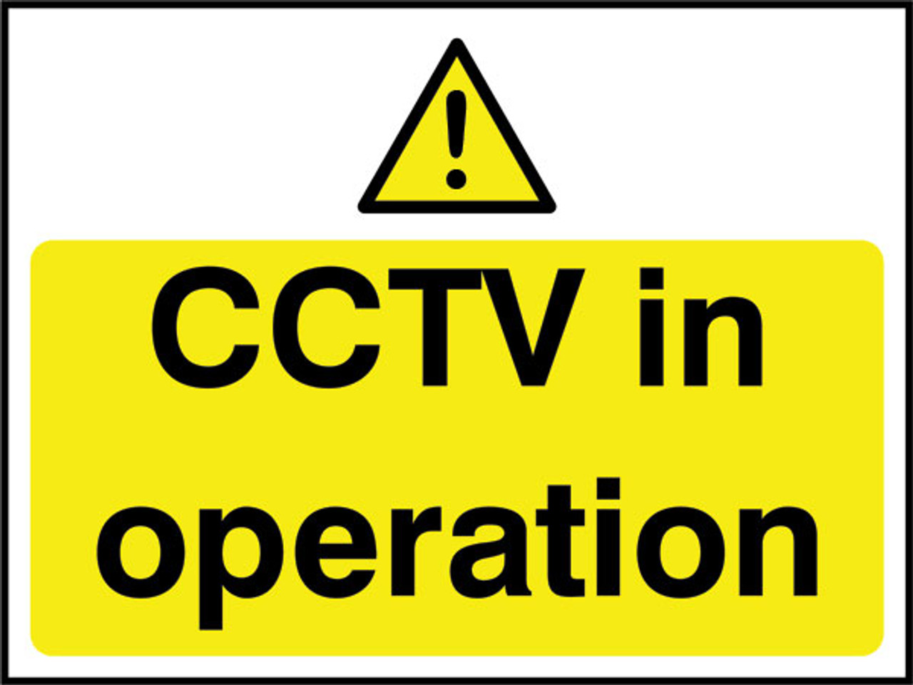 CCTV in operation Correx Sign