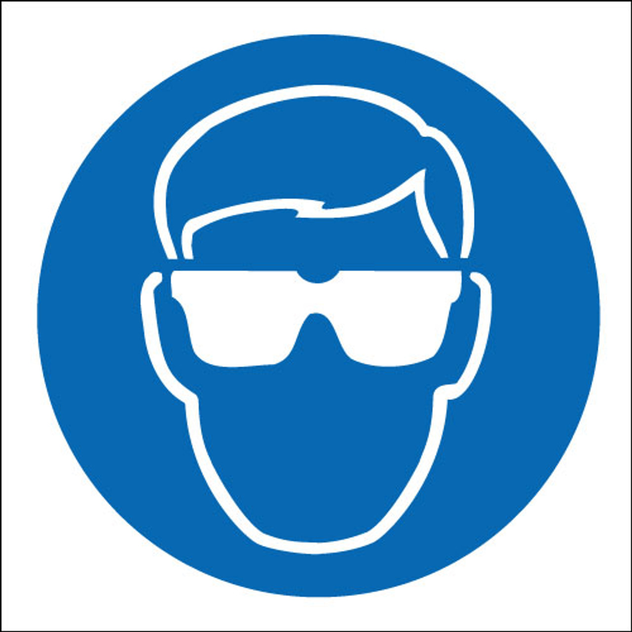 Eye Protection Logo Signs 2 Safety