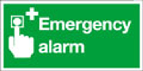 Emergency alarm sign