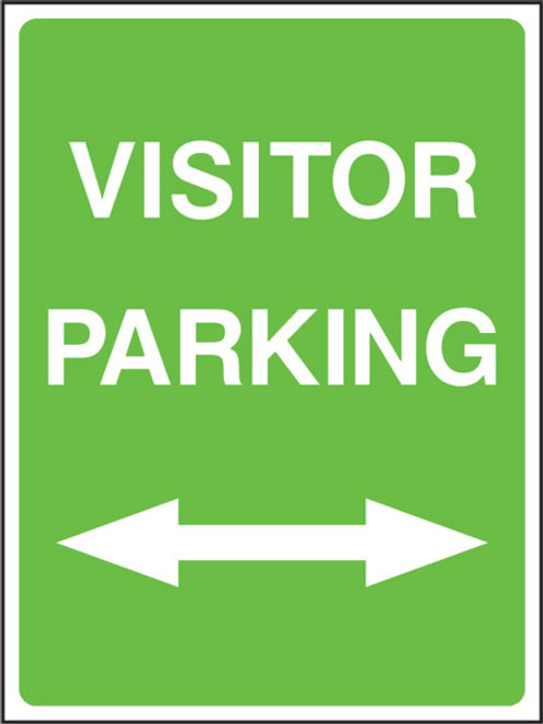 Visitor parking left/right
