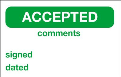 Accepted Label