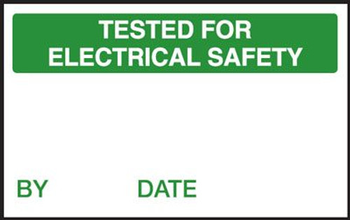 Tested for Electrical Safety QC Label