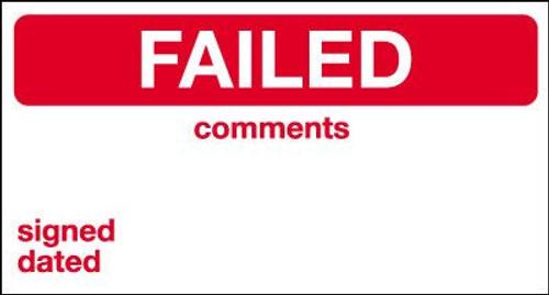 Failed Label