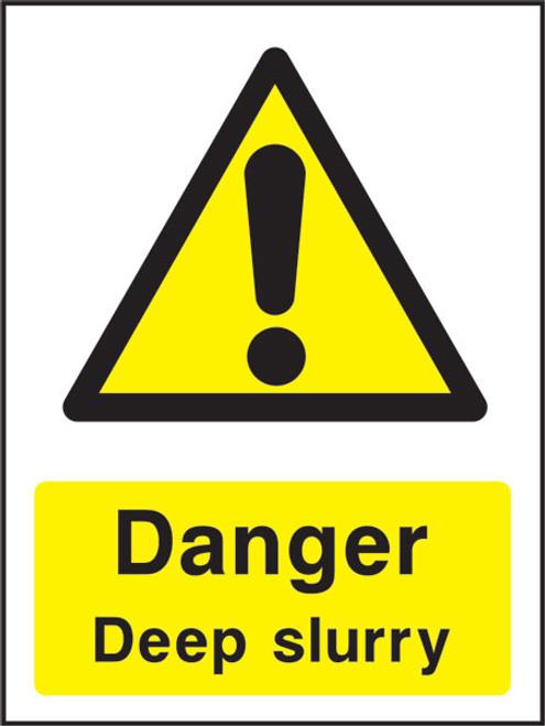 Danger Deep Slurry