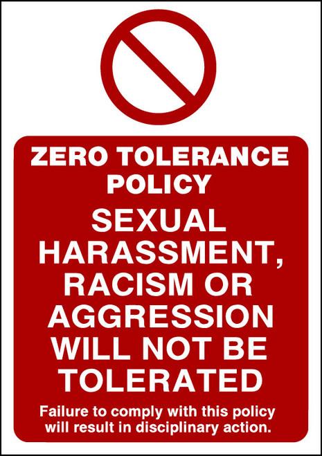 Zero Tolerance Policy 4