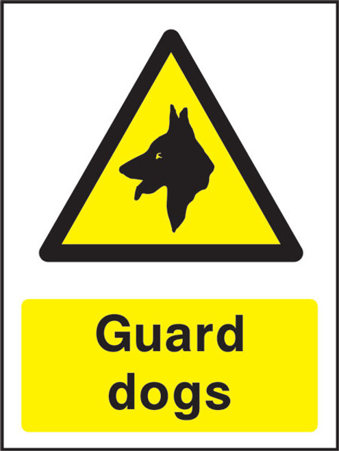 Guard dogs Correx Sign