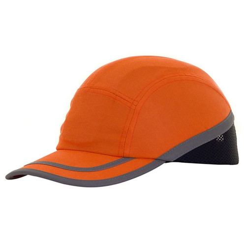Safety Baseball Cap with Reflective Strip