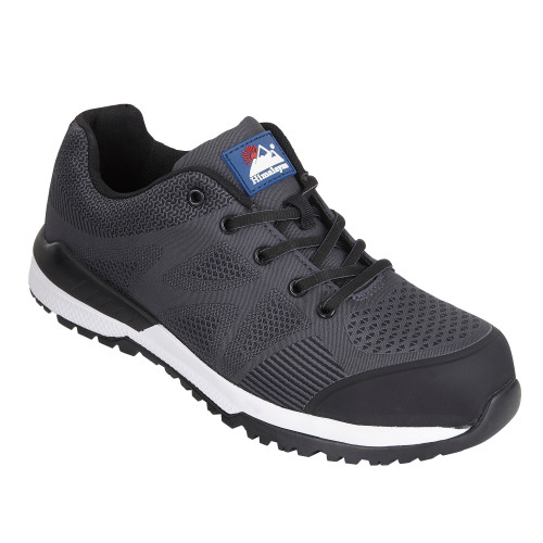HIMALAYAN Black Bounce Mesh Safety Trainer