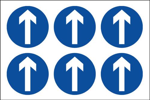 Directional Arrow labels