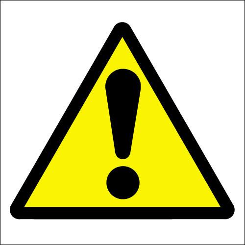 Caution symbol