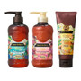 Ahalo Butter Hawaiian Organic Rich Gloss 3 Step Set