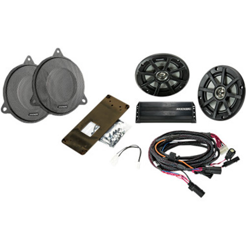 Kicker Plug and Play Audio Kit for 2014-2020 Electra Glide, Street Glide, Tri-Glide