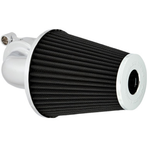 Arlen Ness Monster Sucker Air Cleaner for 2001-2017 Twin Cam Delphi EFI, 1999-2006 Twin Cam CV Carb Models