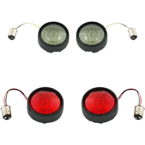 Custom Dynamics Probeam Bullet Bezel Turn Signal Insert Kits for 2011-2020 HD (Various Models)