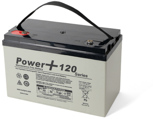 Ion Technologies Power + 120 AH Battery