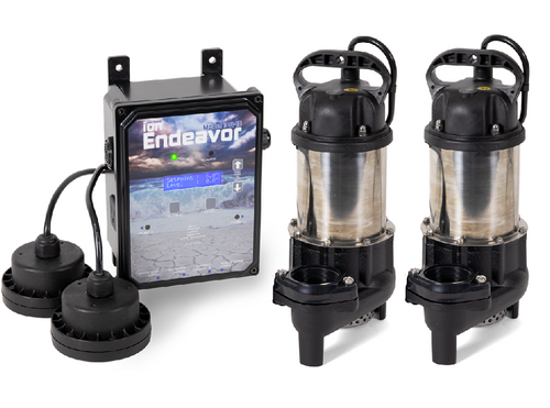 Ion Endeavor BA50 Sump Pump Package (iNE1500-BA50)