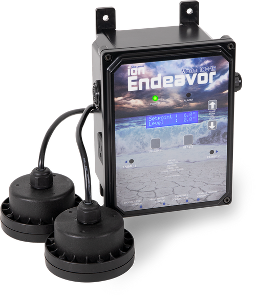 Ion Endeavor 200-15 Controller 230 Volt, 15 Amp, 20' Sensors With Pipe Bracket