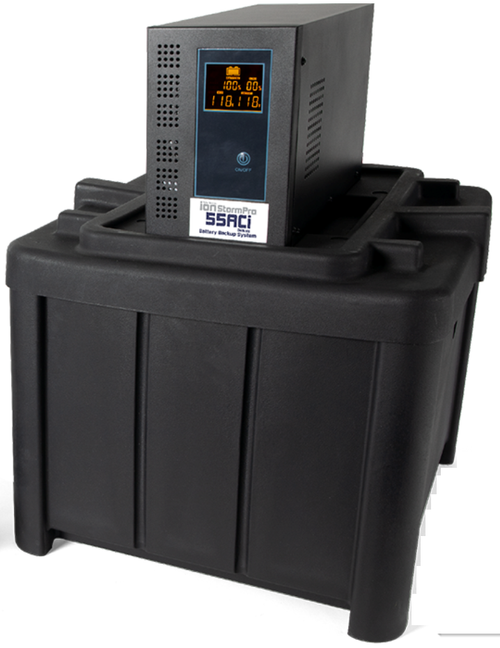 55 AC Inverter With Dual Battery Box (MET20352)