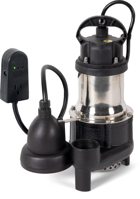 BA33i+ Sump Pump with Built-In High Water Alarm (MHP20157iP)