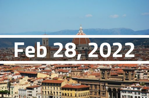 Italy, Florence - TEFL Course Deposit - February 28 - March 25, 2022