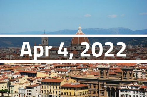 Italy, Florence - TEFL Course Deposit - April 4 - 29, 2022