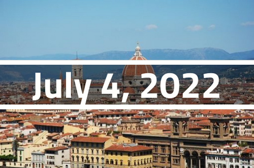 Italy, Florence - TEFL Course Deposit - July 4 - 29, 2022