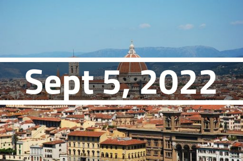 Italy, Florence - TEFL Course Deposit - September 5 - 30, 2022