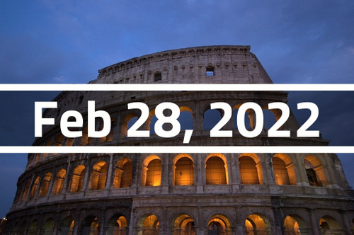 Italy, Rome - TEFL Course Deposit - February 28 - March 25, 2022