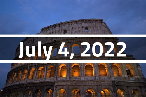 Italy, Rome - TEFL Course Deposit - July 4 - 29, 2022