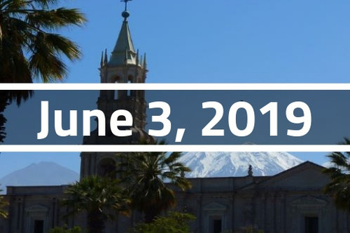 Peru, Arequipa - TEFL Course Deposit - June 3, 2019